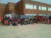 Jornada de Deporte Escolar. Se celebró el pasado sábado en el colegio Concepción Arenal en la categorías de balonmano, voleibol y multideporte