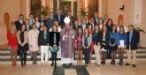 El Obispo de Cartagena confirma a 50 adultos en Águilas y Canteras