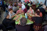 La 'Semana Cultural' del Centro de Día de las Personas Mayores torreño arranca con una gran comida de convivencia
