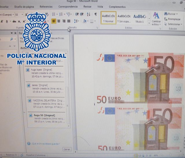 Desmantelado en Colombia un laboratorio de falsificación de euros, dólares USA y pesos colombianos - 3, Foto 3