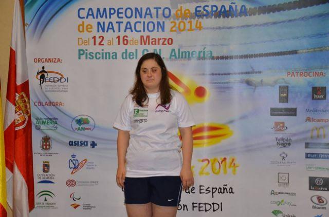 Loli de Gea consigue tres medallas en el Campeonato de España de Natación para personas con discapacidad - 2, Foto 2