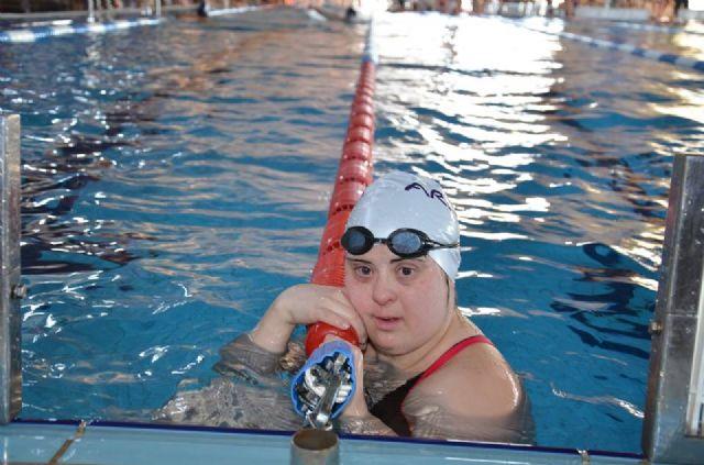 Loli de Gea consigue tres medallas en el Campeonato de España de Natación para personas con discapacidad - 3, Foto 3