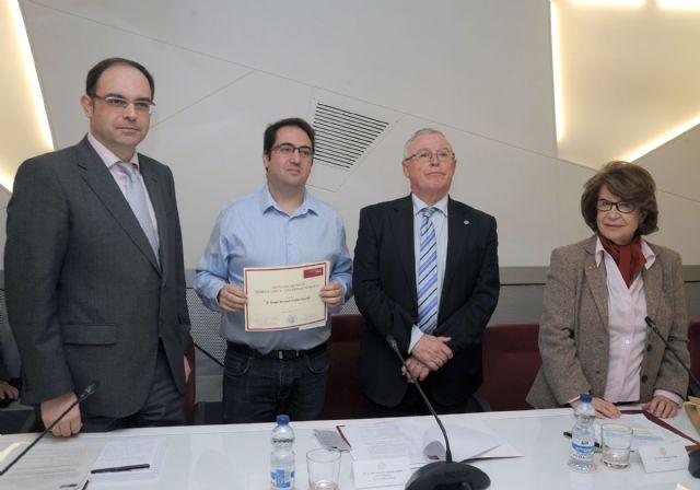 Ángel Manuel Gómez Espada gana el Premio de Poesía Dionisia García de la Universidad de Murcia - 3, Foto 3