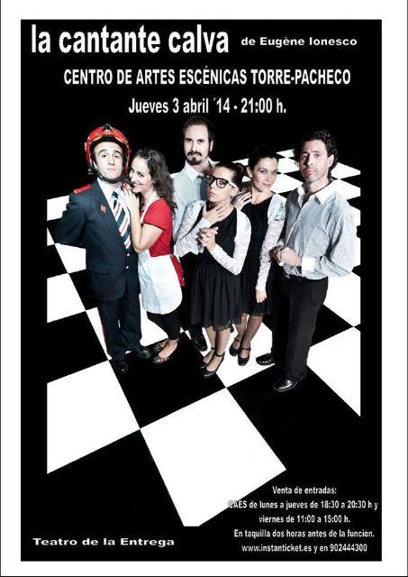 Coque Malla y teatro murciano esta semana en el Centro de Artes Escénicas de Torre-Pacheco - 2, Foto 2