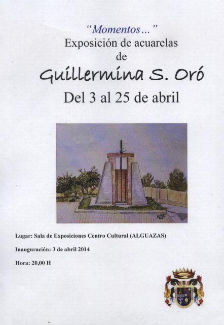 La pintora Guillermina Sánchez Oró expone sus Momentos en Alguazas - 1, Foto 1