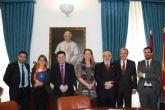 Firma convenio UCAM-Fed. Española de Familias Numerosas