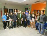 Los alumnos del Programa de Cualificación Profesional Inicial participan en una exposición de pintura