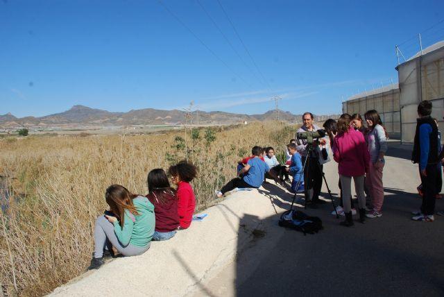 Los escolares de Mazarrón continúan aprendiendo sobre la malvasía cabeciblanca y su conservación, Foto 2
