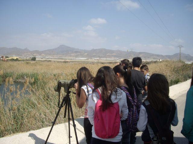 Los escolares de Mazarrón continúan aprendiendo sobre la malvasía cabeciblanca y su conservación, Foto 3