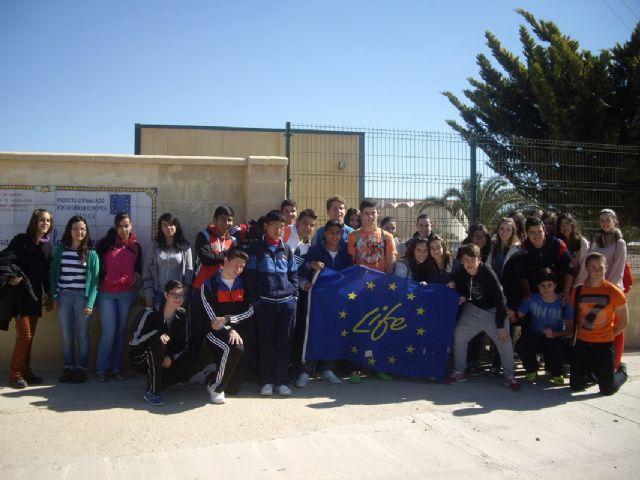 Los escolares de Mazarrón continúan aprendiendo sobre la malvasía cabeciblanca y su conservación, Foto 4