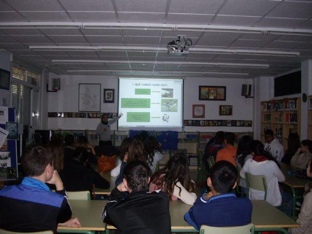 Los escolares de Mazarrón continúan aprendiendo sobre la malvasía cabeciblanca y su conservación, Foto 5