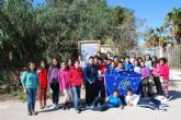 Los escolares de Mazarr�n contin�an aprendiendo sobre la malvas�a cabeciblanca y su conservaci�n