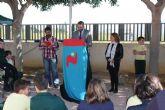 Rafael Gómez se suma al XVI Maratón de Lectura del colegio Antonio de Nebrija