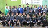 Recepción del Club de Baloncesto Lumbreras tras proclamarse campeones de Liga