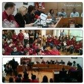 El ayuntamiento acoge el acto institucional de hermanamiento de las hermandades de Jes�s en el Calvario y Santa Cena y Sant�simo Cristo del Calvario de Almassora