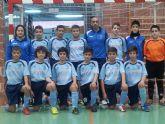 Los jugadores del Infantil B de Capuchinos dieron la sorpresa en su visita a Murcia