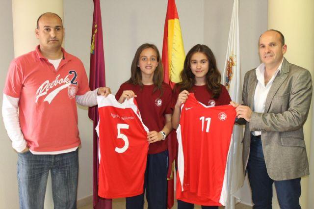 Las mazarroneras Celia Quiñonero y Paula Ballesta en el Campeonato de España de Minibasket, Foto 2