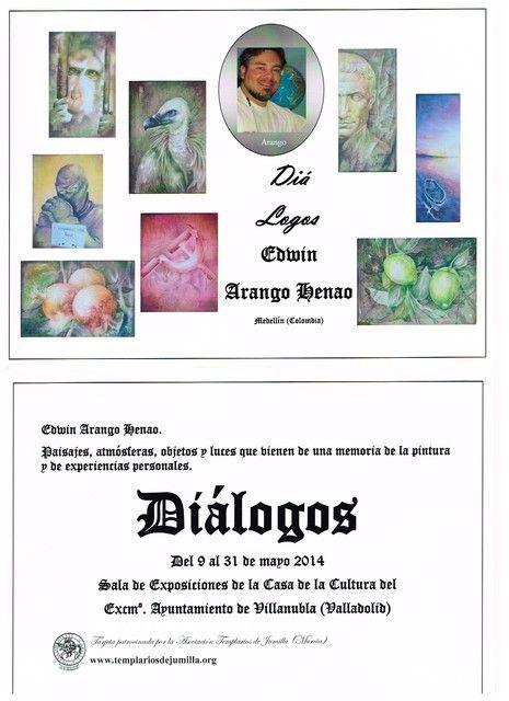 Arango, el Comendador de las Bellas Artes de los Templarios de Jumilla, expone en el ayto. de Villanubla (Valladolid) - 1, Foto 1