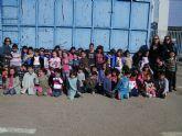 Alumnos de 3° de Infantil del colegio 'Joaquín Carrión' visitaron el ecoparque municipal