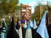 La Cofradía de la Entrada Triunfal de Jesús en Jerusalén recorre las calles de Molina de Segura el Domingo de Ramos, día 13 de abril