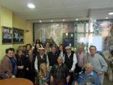 Los usuarios de los Centros de Día para Personas Mayores Dependientes visitan la Hdad de Santa María Cleofé