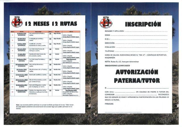 La iniciativa ciclista '12 meses 12 rutas mtb' cuenta con premio, Foto 3