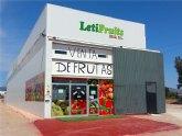 LetiFruits 'El paraíso de la fruta' abre sus puertas en Totana