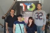 Los ganadores de la 'Ruta de la cuaresma' recogen su premio en productos gastronómicos de Totana