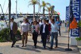 Más de 100 embarcaciones y 40 expositores en la IV Feria Náutica Marina de las Salinas