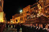 El Nazareno protagonizó la noche de Miércoles Santo 2014 en Puerto Lumbreras