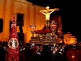 Emotiva Procesión del Silencio con el Stmo. Cristo de la Fe en la noche de Jueves Santo