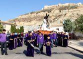 Puerto Lumbreras celebra el Vía Crucis por el casco antiguo y hasta el entorno del Castillo de Nogalte