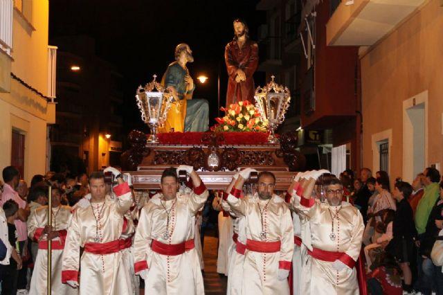 Numeroso público arropa los desfiles procesionales de Puerto de Mazarrón, Foto 1