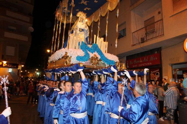 Numeroso público arropa los desfiles procesionales de Puerto de Mazarrón, Foto 2