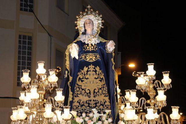Numeroso público arropa los desfiles procesionales de Puerto de Mazarrón, Foto 3