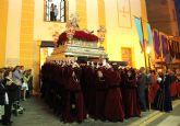La Virgen de Los Dolores mostró su esplendor durante la Procesión del Dolor y del Santo Entierro 2014
