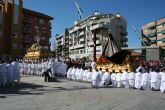 La procesión del Resucitado reunirá a cientos de personas mañana, con el Encuentro en la plaza Adolfo Suárez