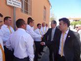 El Alcalde asiste a la presentación de una nueva cofradía en Los Garres