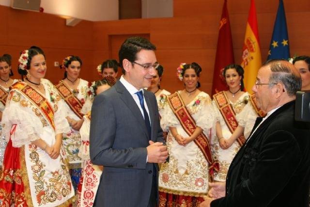 La Reina de la Huerta y sus damas de honor visitaron hoy el Palacio de San Esteban - 3, Foto 3