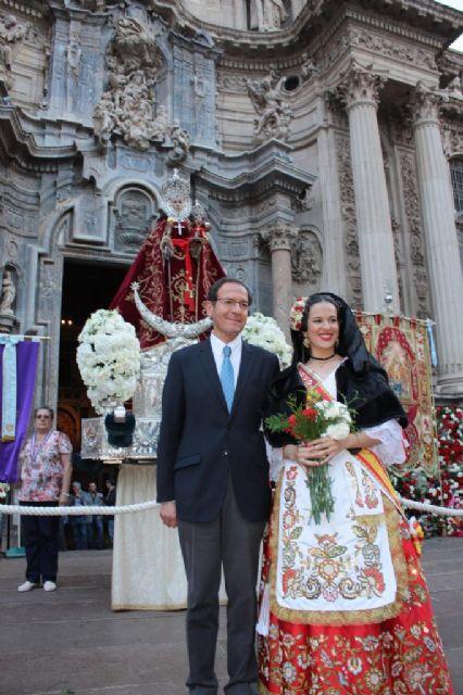 Murcia viste de flores a la Patrona - 1, Foto 1