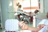 Los trabajadores de ElPozo Alimentaci�n solidarios con la sociedad donando sangre