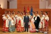 La Reina de la Huerta y sus damas de honor visitaron hoy el Palacio de San Esteban