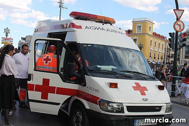 Los servicios sanitarios de emergencias han atendido, hasta las 19.30 horas, a 117 personas por incidencias relacionadas con el Bando de la Huerta - 1, Foto 1