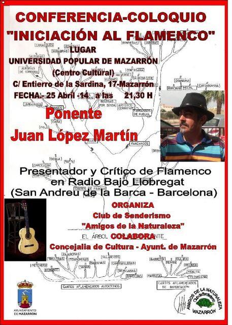 Charla sobre 'iniciación al flamenco' en el centro cultural, Foto 1