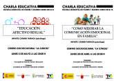 Organizan dos charlas informativas los días 28 de abril y 5 de mayo, dentro del programa escuela municipal de padres y madres para el curso 2014/15