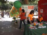 Mascletá de globos para concienciar de la Fibrosis Quística