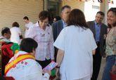 Usuarios y profesionales del Centro Ocupacional de Churra celebran las Fiestas de Primavera