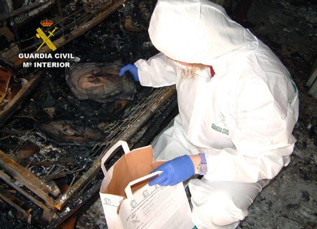La Guardia Civil detiene al presunto autor de varios incendios forestales y de viviendas en Ulea - 1, Foto 1