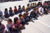 El Colegio San José clausura su semana cultural 'Totana mi querer' con la entrega del garabazo y el canto de las cuadrillas