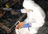 La Guardia Civil detiene al presunto autor de varios incendios forestales y de viviendas en Ulea